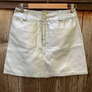 Vintage BB. Dakota Silver Midi-Skirt